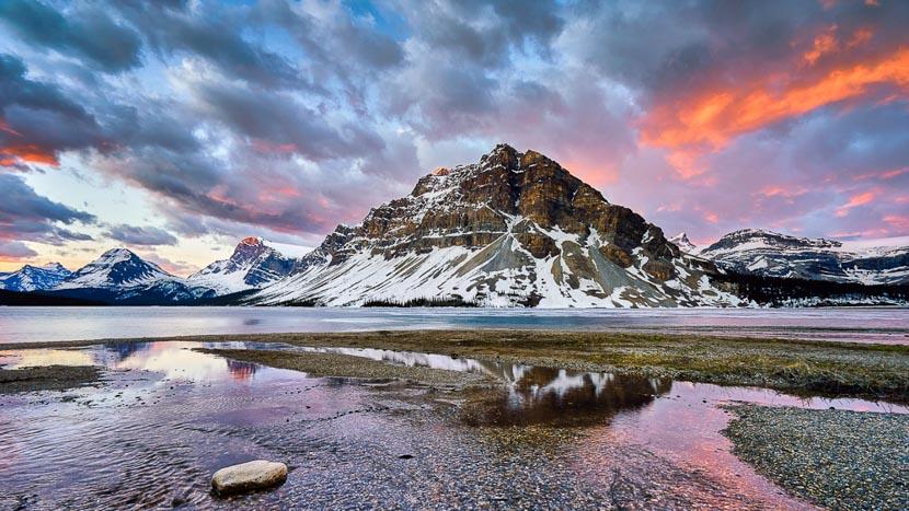 Parc National de Banff, Région de Banff dans l'Alberta, Canada
