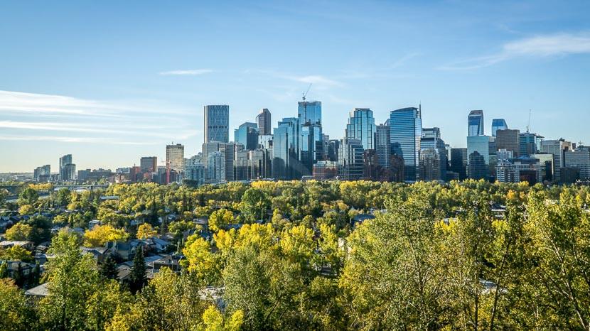 Calgary, Vue de Calgary, Canada
