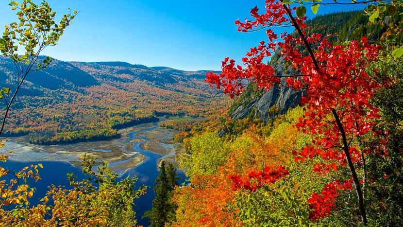Les Cantons de l'Est, Parc national du Mont-Orford, Canada
