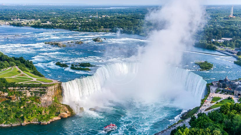 Les Chutes du Niagara, Chutes Niagara, Canada