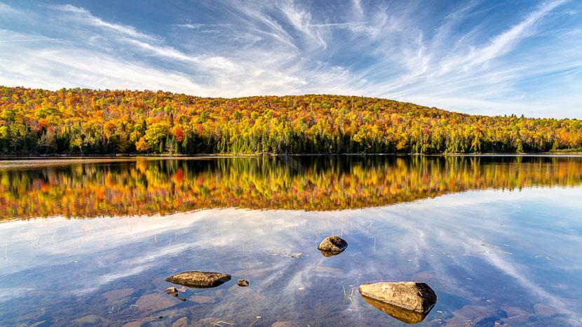 La province de Québec, Parc National de Mauricie au Québec, Canada