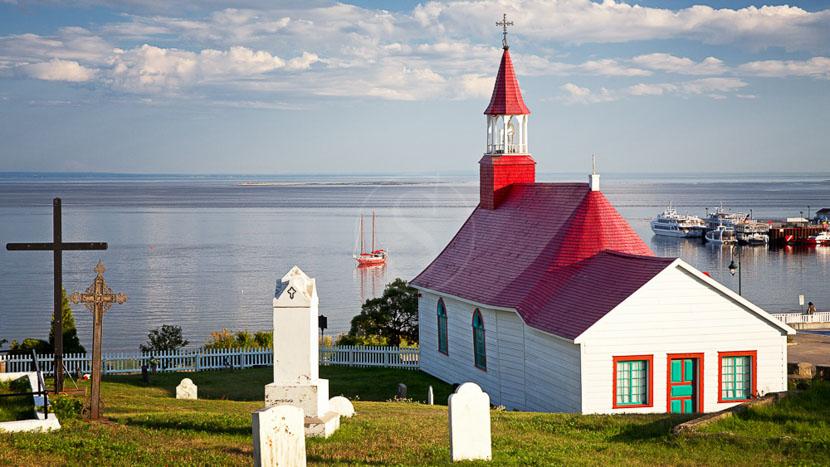 La province de Québec, Tadoussac, Québec, Canada