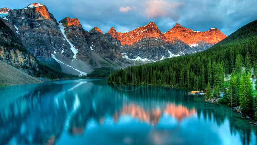 Les grands parcs des Rocheuses Canadiennes, Rocheuses, Canada
