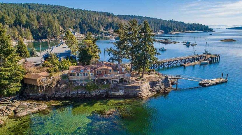 La Sunshine Coast, Halfmoon Bay, Colombie Britannique, Canada © Tous droits réservés