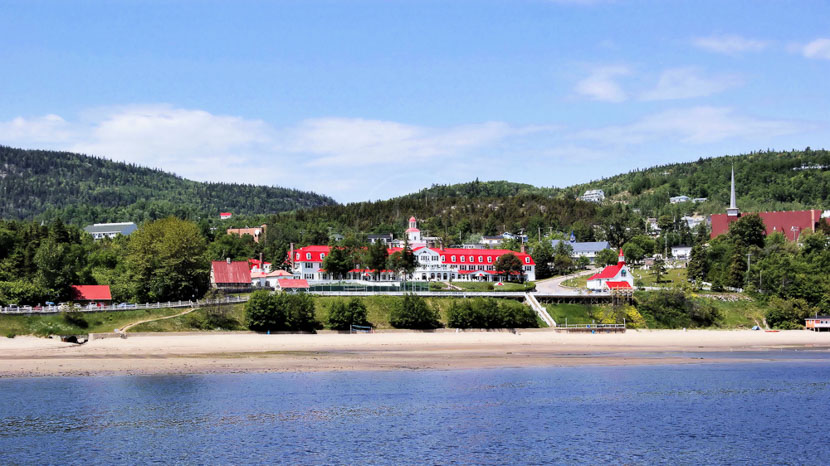 La région de Tadoussac, Tadoussac, Québec, Canada