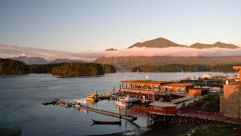 Tofino, Ucluelet et le parc national de la Pacific Rim, Tofino sur l'île de Vancouver, Canada