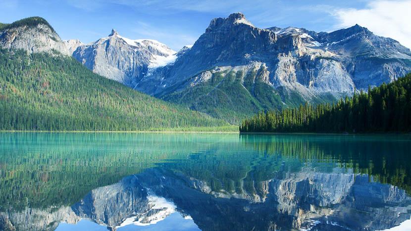 Parc national de Yoho, Lac Emerald, Yoho NP, Canada © Shutterstock