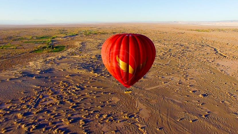 Chili, Survol de l'Atacama en montgolfière © Balloon over Atacama