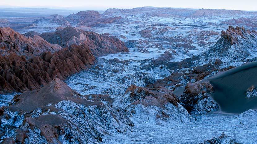 Salar d'Atacama, Vallée de la lune, Chili
