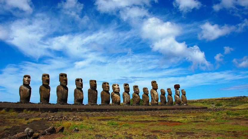 Mystérieuse Ile de Pâques, Île de Pâques, Chili