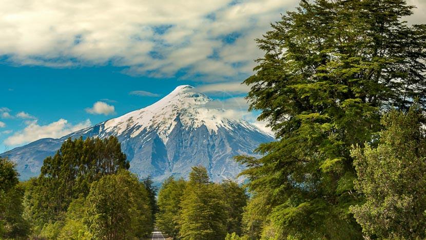 Région des Lacs et l'île de Chiloe, Région de Petrohue, Chili