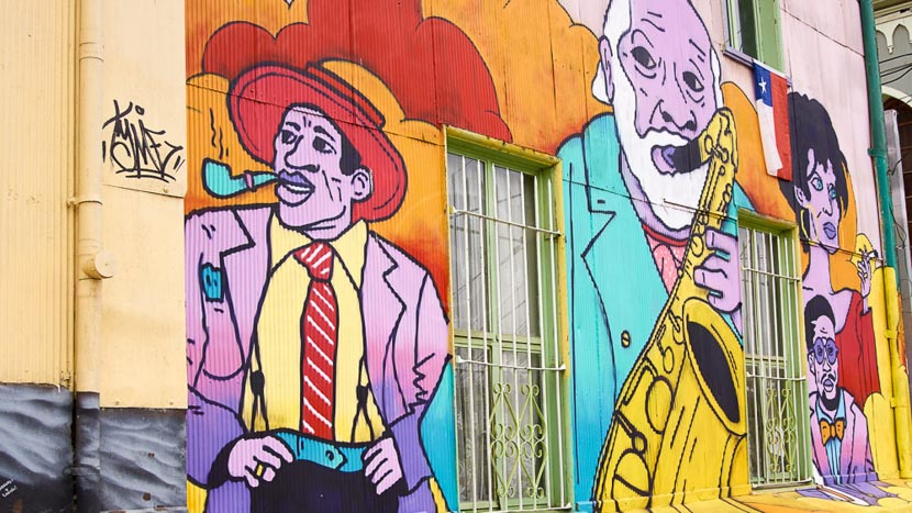 Visite de Valparaíso, Valparaiso, Chili