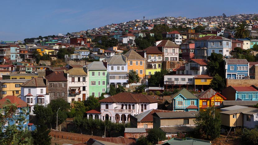 Valparaíso, Ambiance de Valparaiso, Chili