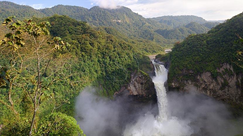 L'Amazonie équatorienne, Chutes de San Rafael, Equateur