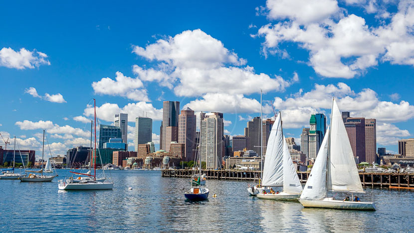 Boston, Massachusetts, Etats-Unis © Shutterstock