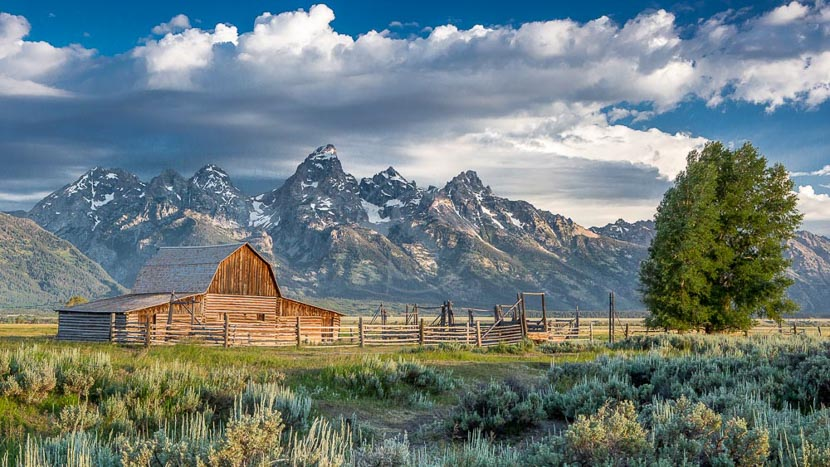 Parc national de Grand Teton, Grand Teton National Park, Etats-Unis © Shutterstock