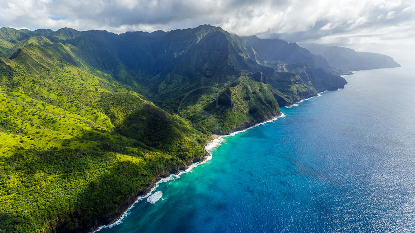 Kauai, Na Pali Coast, Hawai © Shutterstock