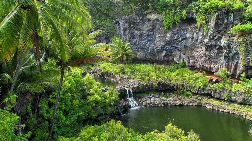 Maui, Piscines d'Oheo, Hawai © Shutterstock