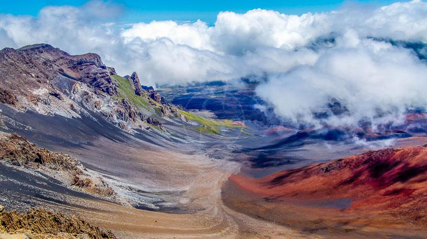 Maui, Volcan Haleakala, Hawai © Shutterstock