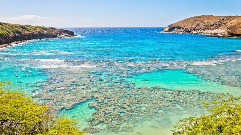 Oahu, Hanauma Bay, Hawai © Shutterstock