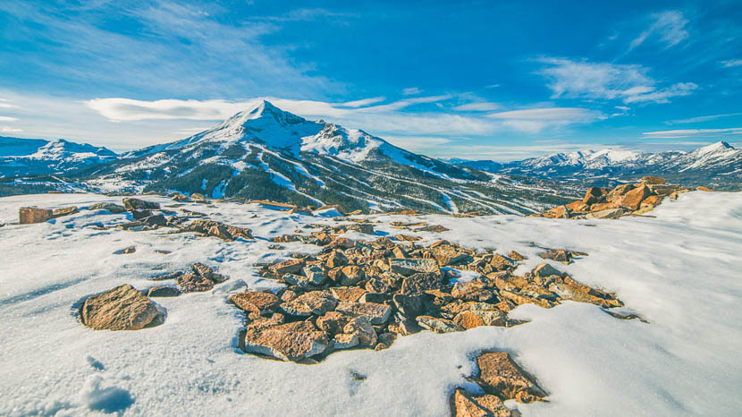 Montana, Big Ski Montana ! Etats-Unis © Shutterstock