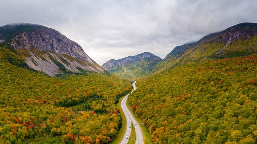 New Hampshire, White Mountains, Etats-Unis © Shutterstock