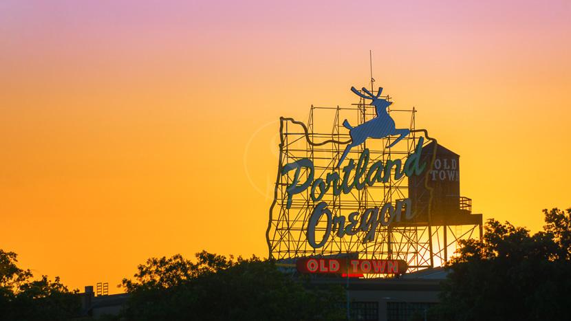 Portland, Portland, Etats-Unis © Shutterstock