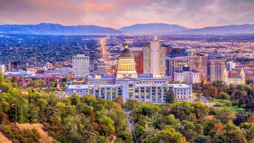 Salt Lake City, Salt Lake City, Etats-Unis © Shutterstock