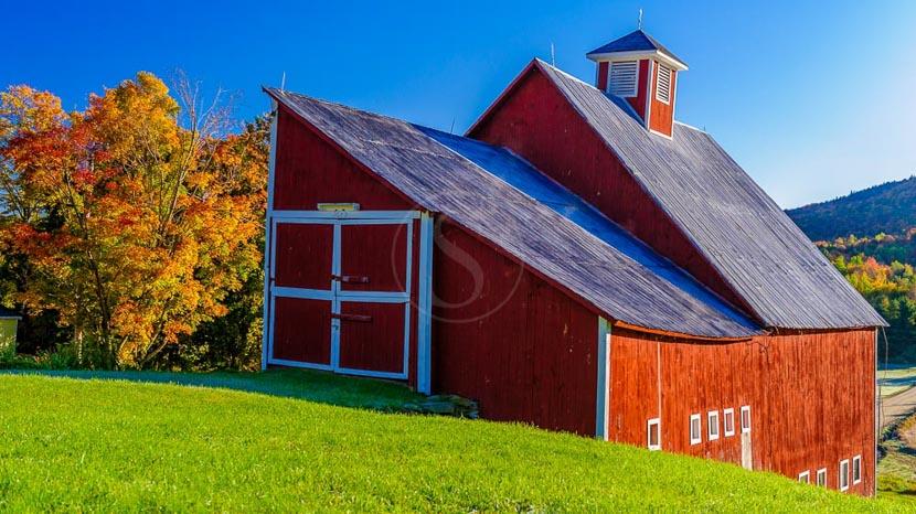 Vermont, Green Mountains, Etats-Unis © Shutterstock