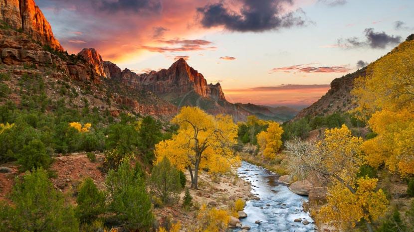 Parc national de Zion, Zion National Park, Etats-Unis © Shutterstock