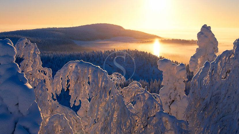 La Laponie, Ambiance de Finlande en hiver, Finlande (c) Pekka Luukkola