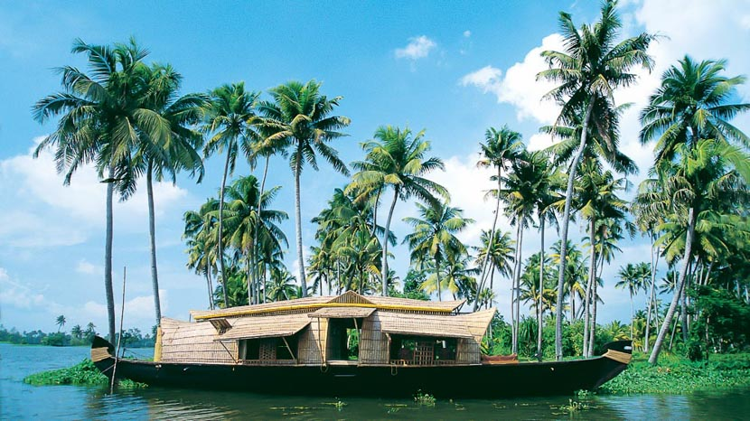 Inde, Backwaters dans le Kerala, Inde