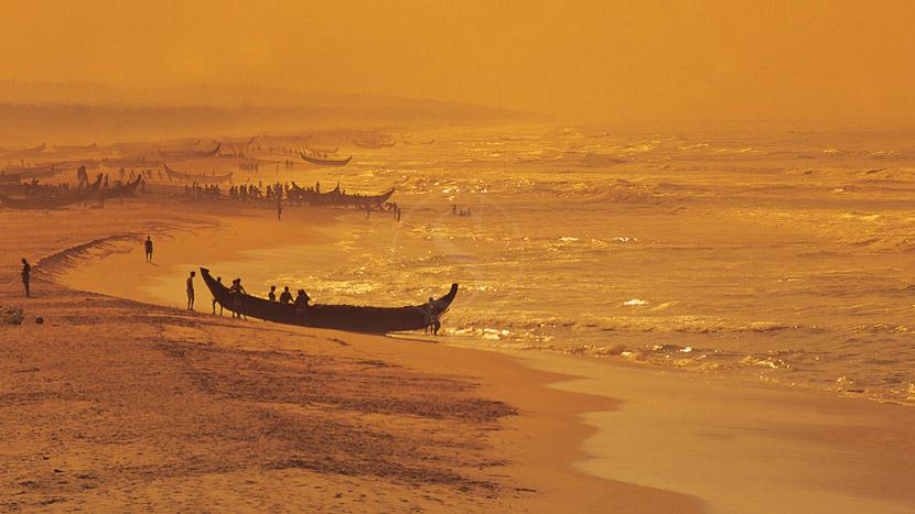 Cochin, Plage du Kerala, Inde
