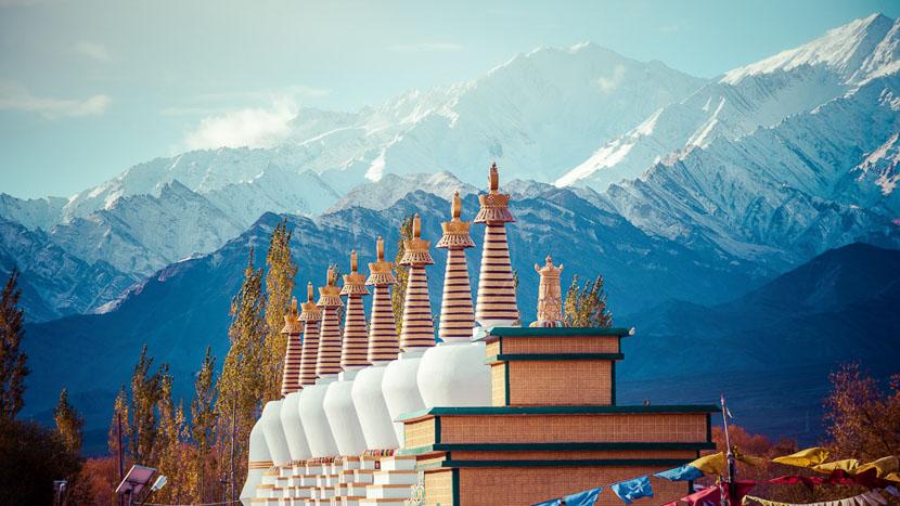 Ladakh, Paysage du Ladakh, Inde