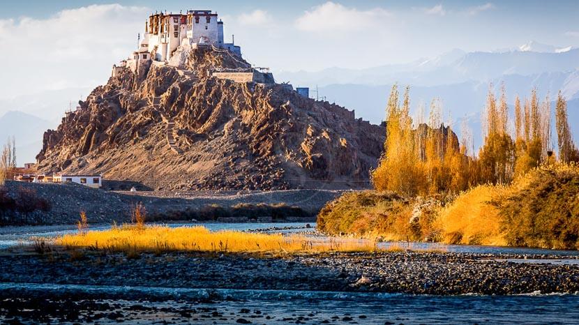 Ladakh, Monastère de Stakna au Ladakh, Inde