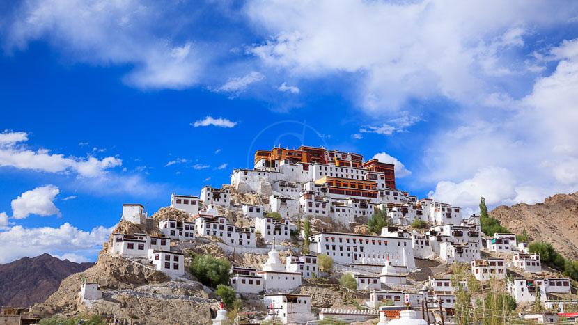 Ladakh, Thiksey Gompa au Ladakh, Inde