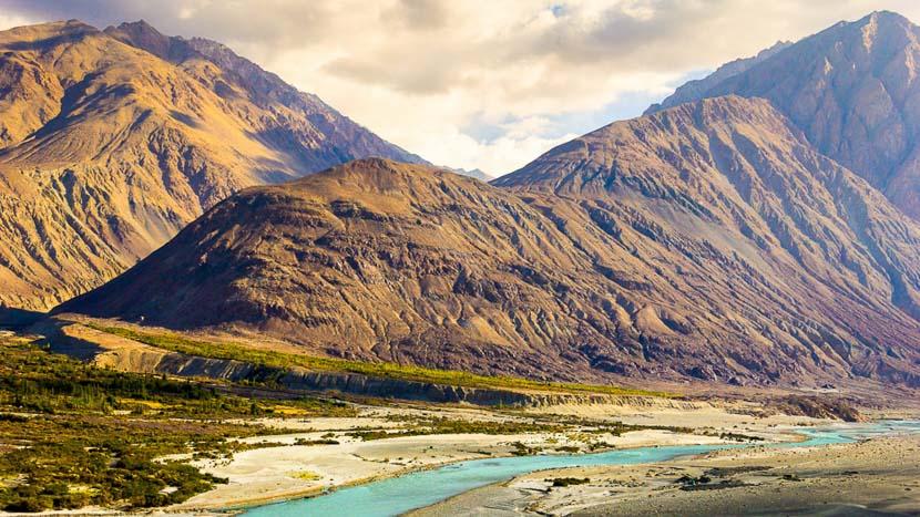 Ladakh, Vallée de Nubra près de Leh, Inde