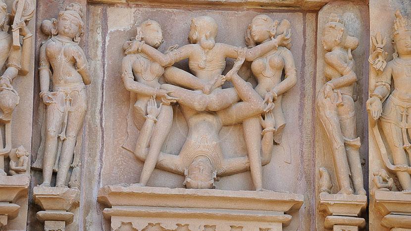 Khajurâho, Temples de Khajuraho, Inde © Alain Pons
