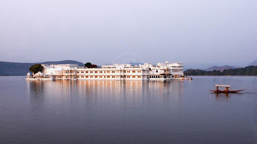Udaipur, Taj Lake Palace à Udaipur, Inde