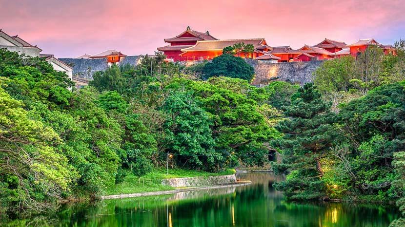 Okinawa, Shuri Castle, Okinawa, Japon