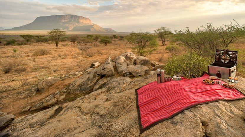 Réserves de Samburu et Shaba, Saruni Samburu, Kenya