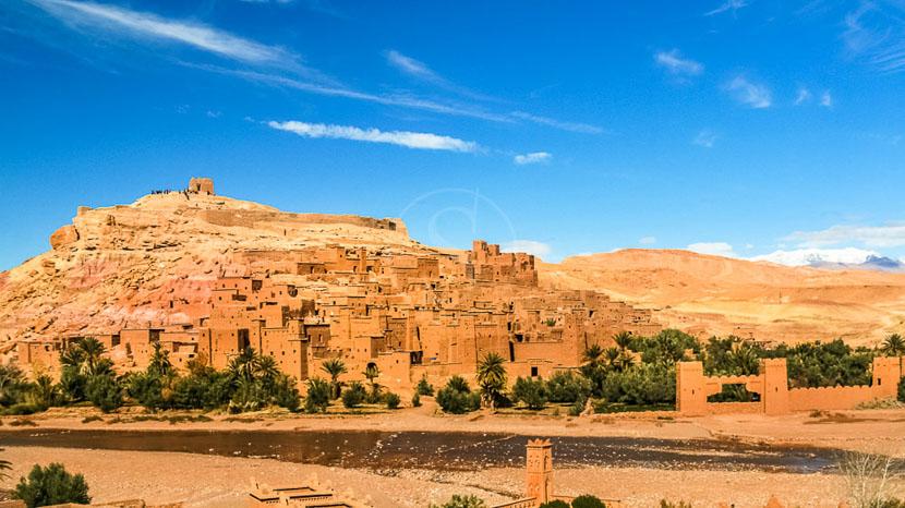 Le Ksar de Aït Ben Haddou, Ait Benhaddou, Maroc © Shutterstock