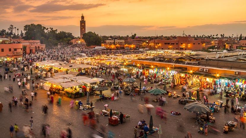 Marrakech, Marrakech, Maroc © Shutterstock