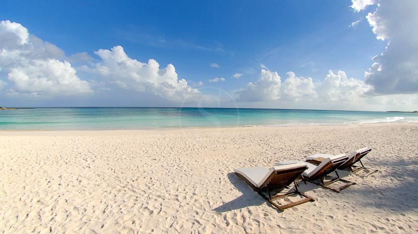 Isla Holbox, La plage de l'hôtel Esencia, Mexique © Esencia
