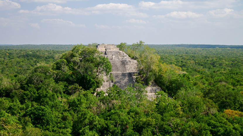 Yucatán, Calakmul - Yucatan, Mexique