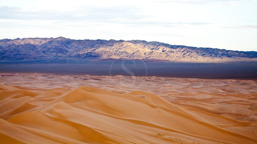 Dunes de Khongor , Dunes de Khongor dans le Désert de Gobi, Mongolie