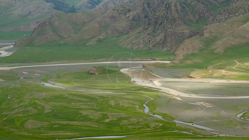 Vallée de l'Orkhon, Vallée d'Orkhon, Mongolie