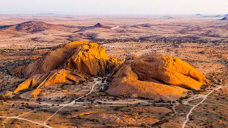 Damaraland, Spitzkoppe Lodge, Namibie