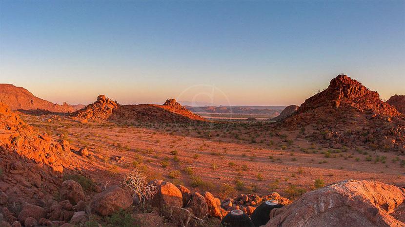 Damaraland, Mowani Mountain Camp, Namibie