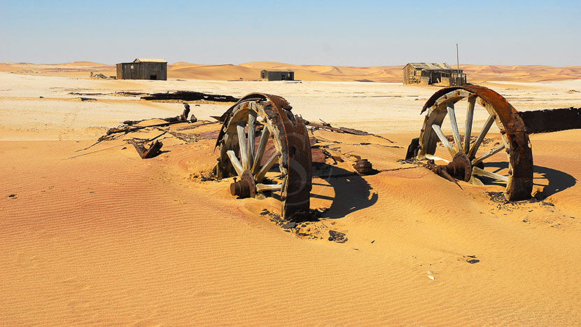 Lüderitz, Désert du Namib, Namibie